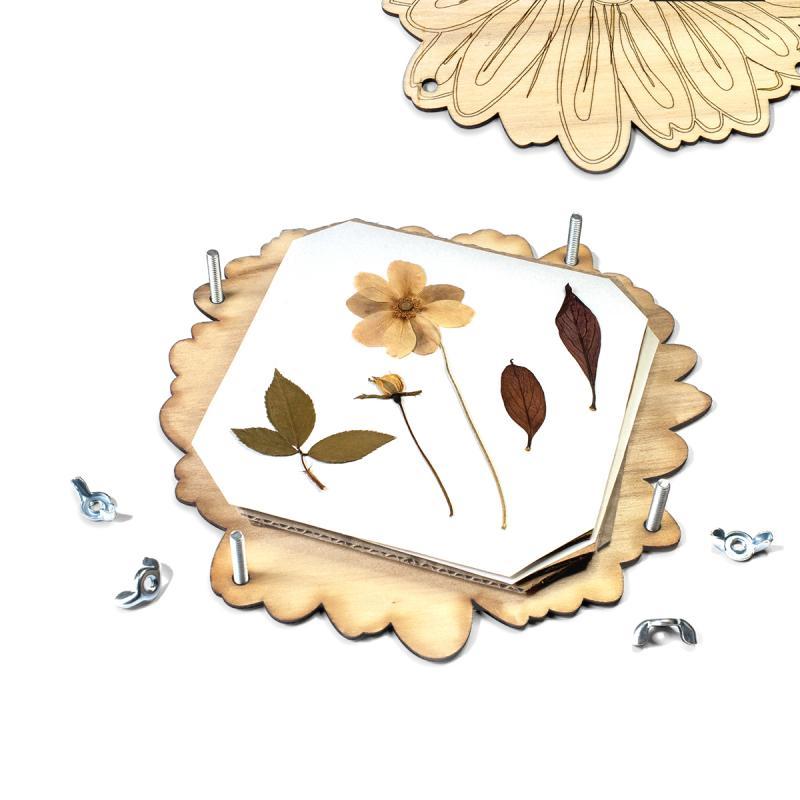 Prensa para secar flores