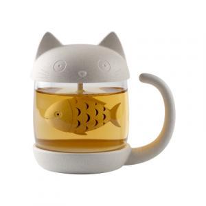 TAZA CON INFUSOR CAT