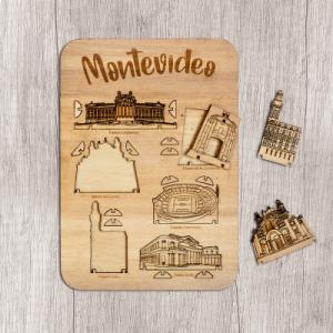 Mini Montevideo Armable